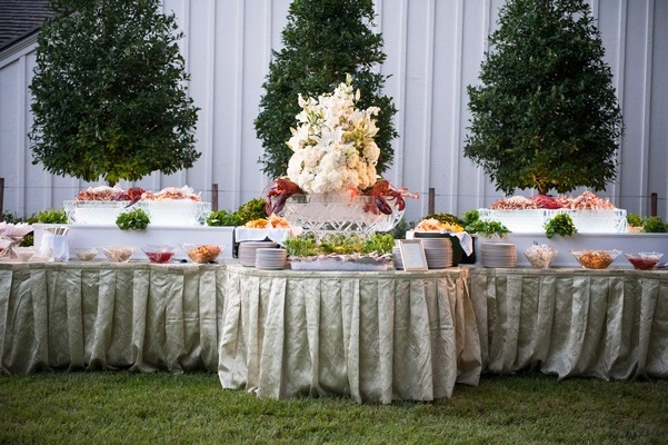 bride buffet